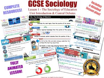 Introduction & Main Debates -The Sociology of Education (GCSE Sociology L1/20)