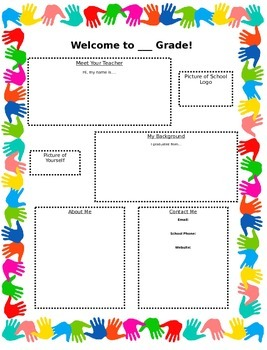 Introduction Newsletter to Parents