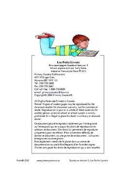 Introduction PROF Petits livrets Succès en lecture 1  C1 Maternelle à 2e