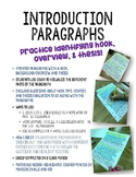 Introduction Paragraph: Mentor Text Activity