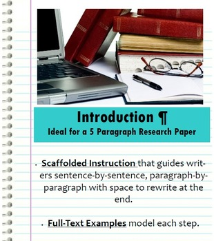 Introduction Paragraph - Research Paper