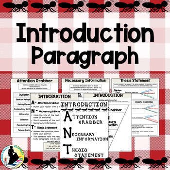 Introduction Paragraph for Text Based Evidence Responses