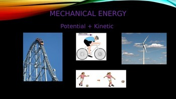 Introduction Power point for Forms of Energy Middle School
