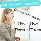 ESL Grammar Lesson - Introduction questions & Demonstrative pronouns