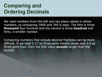 Introduction To Decimals [PowerPoint]