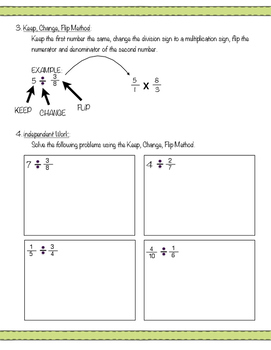 Introduction To Dividing Fractions