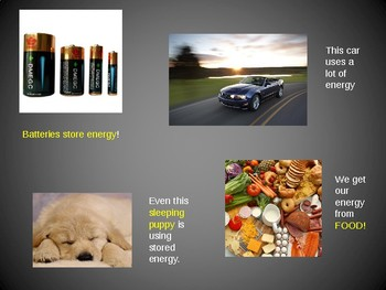 Introduction To Kinetic and Potential Energy PowerPoint