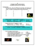 Introduction To Life Science - Classification Learning Goals