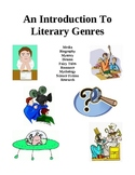 Introduction To Literary Genres - Activities and Handouts