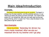 Introduction To Main Idea and Supporting Details