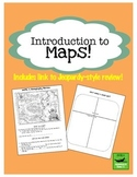 Introduction To Maps Lesson