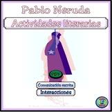 Introduction To Pablo Neruda Reading Comprehension Activity