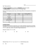 Introduction To Polynomial Functions Guided Notes