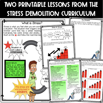 Introduction To Stress & Anxiety (lessons from Stress Demolition)