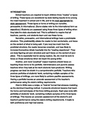 Introduction To Structured Writing In Third Grade