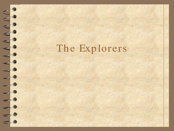 Introduction to the Explorers with Map Activity