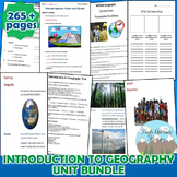 Introduction to Geography *Unit Bundle* Intro & Tools of Geography