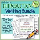 Introduction Writing: 3 Lessons, Writing Maps, Activities