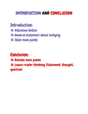 Introduction and Conclusion Checklist