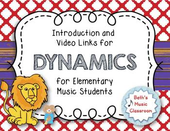 Introduction and Suggested Video Links for Teaching DYNAMICS - Elementary Music