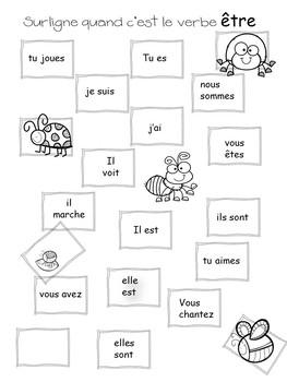 Introduction aux verbes aimer, être, avoir