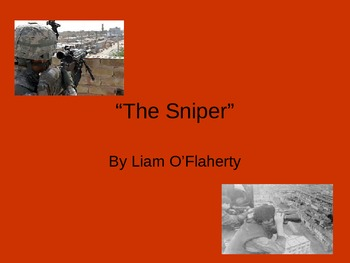 """Introduction for """"The Sniper"""""""