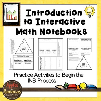 Introduction to Interactive Math Notebooks - Freebie