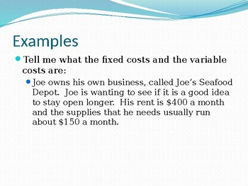 Introduction into Economics