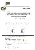 Introduction into Integers: Identifying & Solving Rational Numbers Worksheet