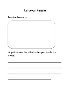 Introduction, le corps humain