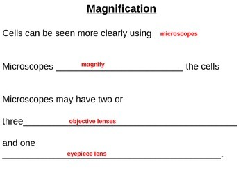 Introduction of Cells