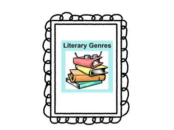 Introduction of Genres in Reading- Common Core Aligned