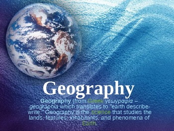 Geography Powerpoint
