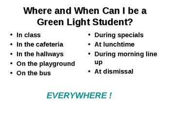 Introduction of Green Light Discipline Program