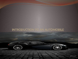 Introduction of an automobile