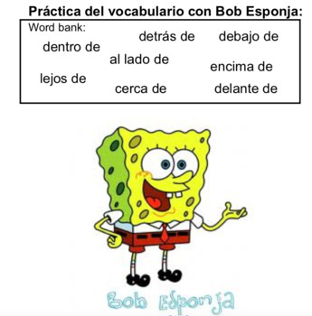 Introduction on location words in Spanish