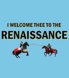 Introduction to the Renaissance: Lesson Bundle