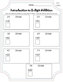 Introduction to 2 Digit Addition