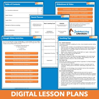 Introduction to 4th Grade Literature Standards Bundle - PowerPoints & Resources