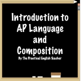 Introduction to AP Language and Composition
