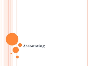 Introduction to Accounting for an Introduction to Business course