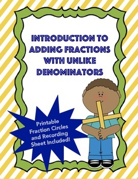 Introduction to Adding Fractions with Unlike Denominators