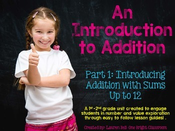 Introduction to Addition {Step-by-Step Plans for Hands on