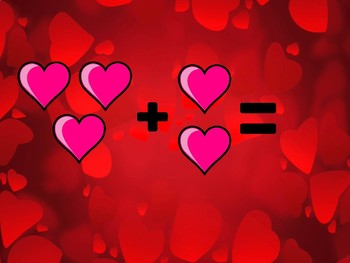 Introduction to Addition Valentines Day Edition - Differentiated & Editable
