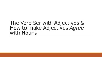 Introduction to Adjectves & Agreement