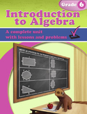 Introduction to Algebra: Grade 6