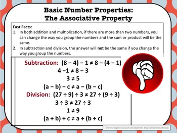 Algebra: Introduction to Algebra PowerPoint and Student Notes Newly Revised