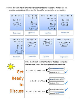 Introduction to Algebra: Understanding Expressions and Equations