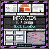 Introduction to Algebra Unit Bundle