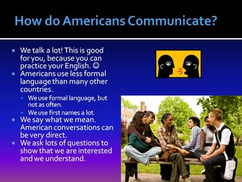 Introduction to American English PowerPoint